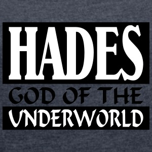 Hadès _-_ God_Of_The_Underworld - T-shirt Femme à manches retroussées
