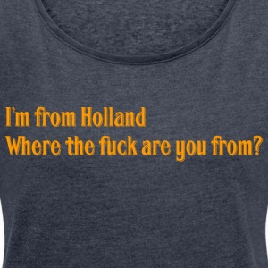 Holland - Women's T-shirt with rolled up sleeves