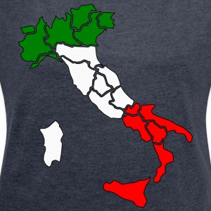 FORZA ITALIA COLLECTION 2017 - Dame T-shirt med rulleærmer