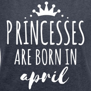 Princesses April Shirt - Women's T-shirt with rolled up sleeves