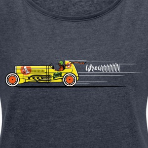 The Race - Women's T-shirt with rolled up sleeves