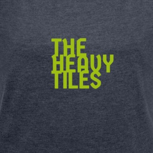 the heavy tiles green collection - Women's T-shirt with rolled up sleeves