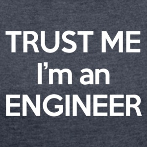 Engineer - White Edition - T-shirt med upprullade ärmar dam