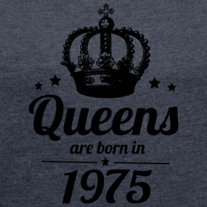 Queen 1975 - Women's T-shirt with rolled up sleeves