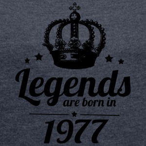 Legends 1977 - Dame T-shirt med rulleærmer