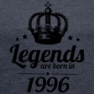 Legends 1996 - Women's T-shirt with rolled up sleeves
