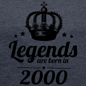 Legends 2000 - Women's T-shirt with rolled up sleeves