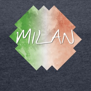Milan - Milan - Women's T-shirt with rolled up sleeves