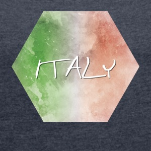 Italy - Italy - Women's T-shirt with rolled up sleeves
