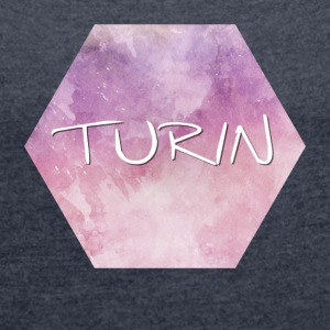 Turin - Women's T-shirt with rolled up sleeves