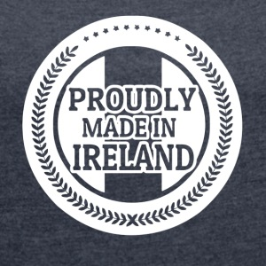 IRELAND - Women's T-shirt with rolled up sleeves