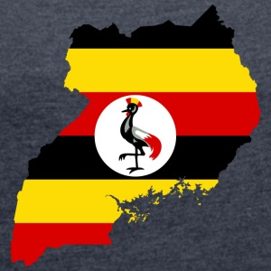 uganda collection - Women's T-shirt with rolled up sleeves