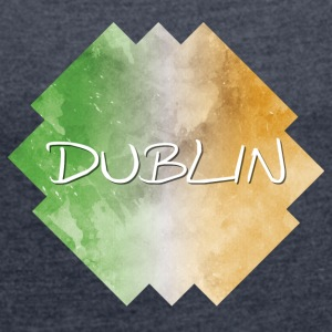 Dublin - Women's T-shirt with rolled up sleeves