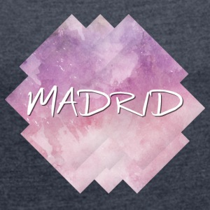 Madrid - Women's T-shirt with rolled up sleeves