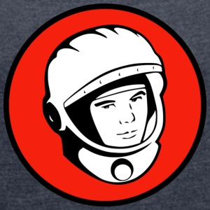 Astro - Women's T-shirt with rolled up sleeves
