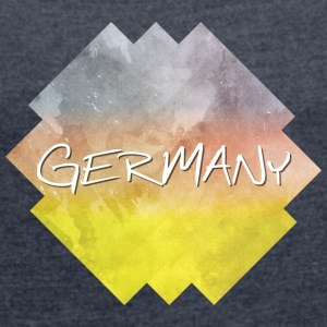 Germany - Germany - Women's T-shirt with rolled up sleeves
