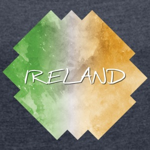 Ireland - Ireland - Women's T-shirt with rolled up sleeves