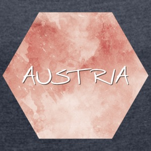 Austria - Austria - Women's T-shirt with rolled up sleeves