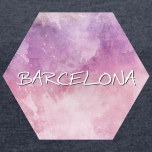 Barcelona - Women's T-shirt with rolled up sleeves
