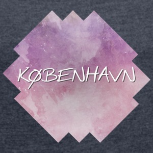 København - Copenhagen - Women's T-shirt with rolled up sleeves