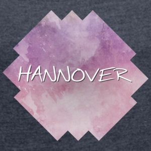 Hanover - Women's T-shirt with rolled up sleeves