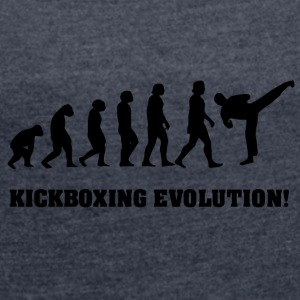 karate evolution - T-shirt med upprullade ärmar dam