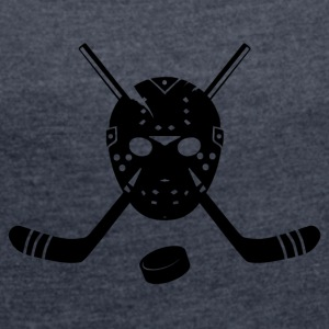 Hockey shirt - Women's T-shirt with rolled up sleeves