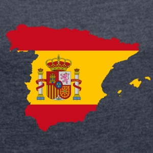 Spain - Women's T-shirt with rolled up sleeves