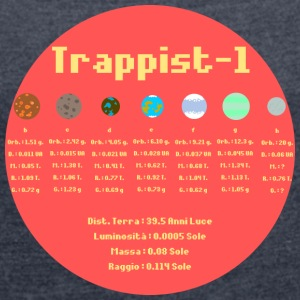 Trappist-1 - Women's T-shirt with rolled up sleeves