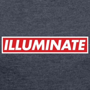 Illuminate - Women's T-shirt with rolled up sleeves
