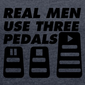 pedals - Women's T-shirt with rolled up sleeves