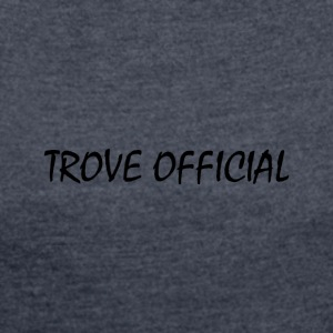 Trove Official - Women's T-shirt with rolled up sleeves