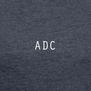 ADC - Women's T-shirt with rolled up sleeves