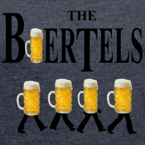 The Biertels - Women's T-shirt with rolled up sleeves
