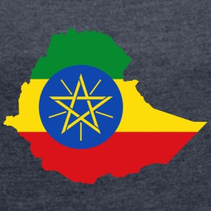 ethiopia collection - Women's T-shirt with rolled up sleeves