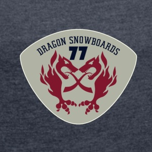 DARGON SNOWBOARDS 01 - Women's T-shirt with rolled up sleeves