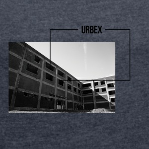 urbex framework - Women's T-shirt with rolled up sleeves