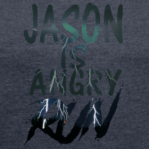 Jason - Women's T-shirt with rolled up sleeves