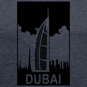 DUBAI - Women's T-shirt with rolled up sleeves