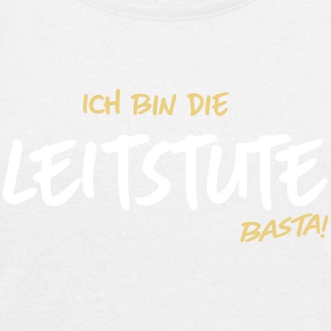 Vorschau: Ich bin die Leitstute - Frauen T-Shirt mit gerollten Ärmeln