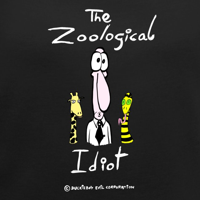 Zoological idiot, colores oscuros