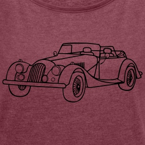 Oldtimer - Women's T-shirt with rolled up sleeves