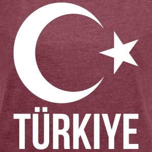 Turkey - Women's T-shirt with rolled up sleeves