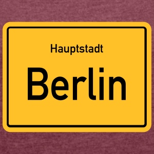capital Berlin - Women's T-shirt with rolled up sleeves