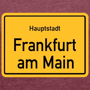 Capital Frankfurt - Women's T-shirt with rolled up sleeves