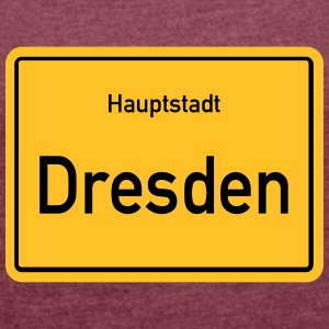 City of Dresden - Women's T-shirt with rolled up sleeves
