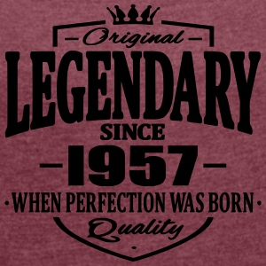Legendary since 1957 - Women's T-shirt with rolled up sleeves