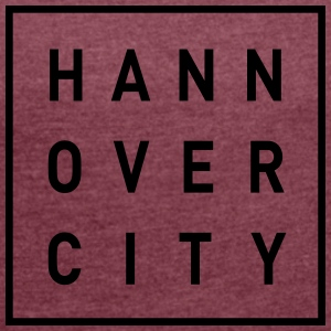 HANNOVER CITY - Women's T-shirt with rolled up sleeves