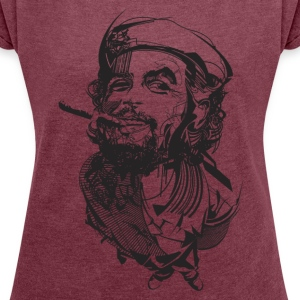 IlCheGuevara - Women's T-shirt with rolled up sleeves