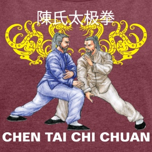 Chen Tai Chi Chuan Taiji - Women's T-shirt with rolled up sleeves